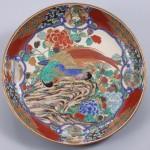 No.2 色絵花鳥図大平鉢