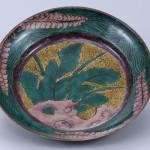 No.24 青手芭蕉図鉢