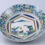 No.25 色絵花鳥図鉢