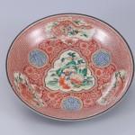 No.38 赤絵五羅漢図鉢