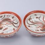 No.47 金襴手鳳凰図鉢