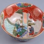 No.7 金襴手人物図深鉢