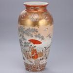 No.17 彩色公卿遊図大花瓶
