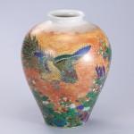 No.23 色絵桐鳳凰図花瓶