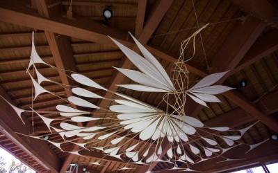 いしかわ動物園×ウルトラアート のみフェス/ULTRA ART作品 「孔雀」Art of Bamboo Japan