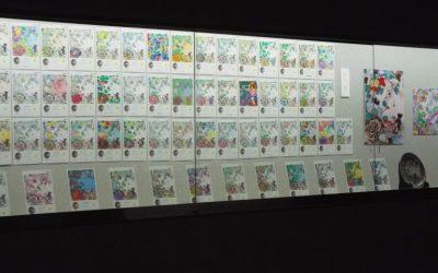 九谷ぬり絵 作品展示会