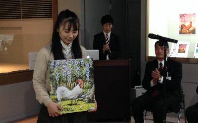追記【第2回九谷ぬり絵コンテスト表彰式】