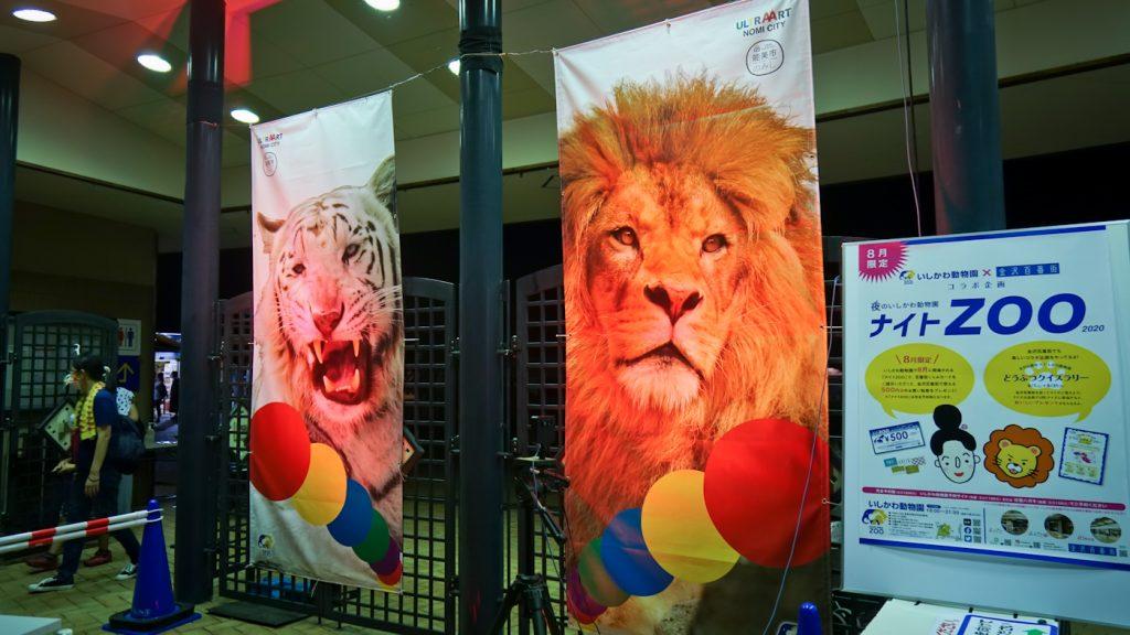 いしかわ動物園ナイトZOO2020