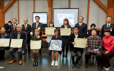 第5回九谷ぬり絵コンテスト/表彰式が行われました。